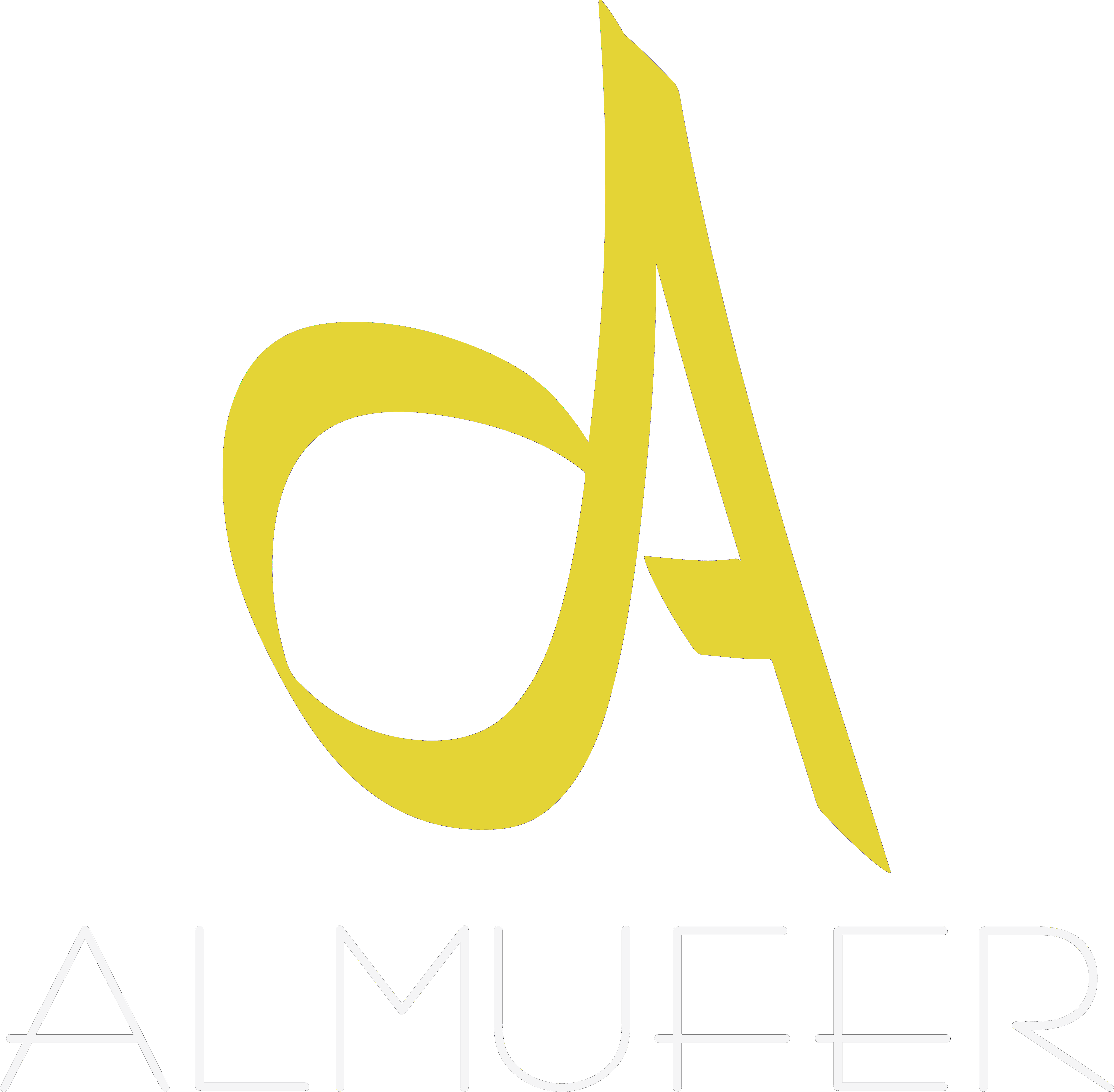 Logotipe Almufer white